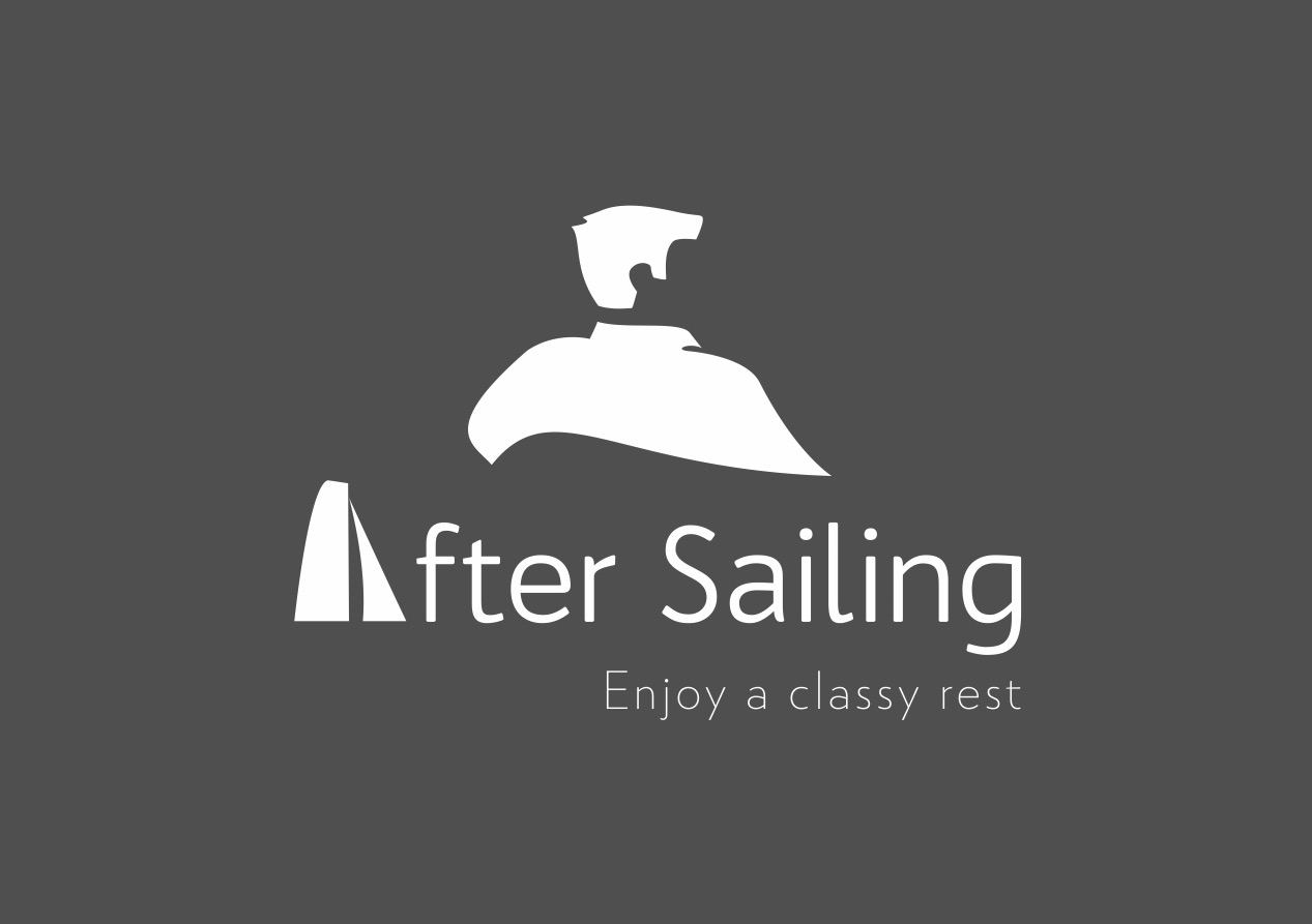 Logo After Sailing négatif